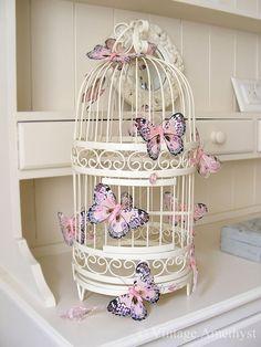 linxy-zn: Birdcage | Shabby on We Heart It -...