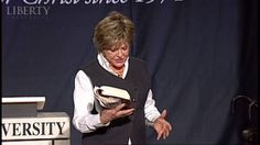 Kay Arthur - Liberty University Convocation