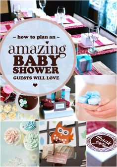 5 Tips for Planning a Baby Shower