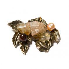 Pandantiv Aura Gold - Mirabilis Art Jewelry - lei105.00 - www.thescarfstreet.com #thescarfstreet #esarfe #esarfa #scarf #fular #moda #modadama #romania #fashion