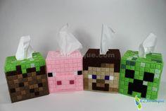 Minecraft Block Tissue Box Cover.