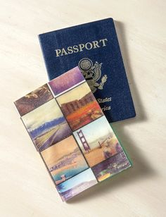 DIY passport holder using Instagram photos - Mod Podge Rocks