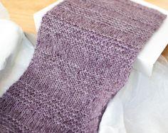 Free Knit Scarf Pattern