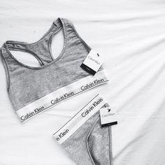 CK underware bra set