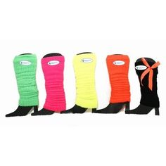 Ladies/Womens Thermal Leg Warmers with Bows (1 Pair) $3.20