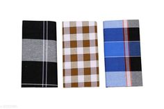 Dhotis, Mundus & Lungis Attractive Men's lungi Fabric: Cotton Multipack: 3 Sizes:  Free Size (Dhoti Length Size: 70 in Length Size: 2.25 m) Country of Origin: India Sizes Available: Free Size   Catalog Rating: ★3.9 (377)  Catalog Name: Fancy Men Dhotis Mundus & Lungis CatalogID_830337 C66-SC1204 Code: 054-5553985-8511