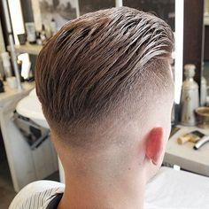 in haircut topics Mens Hairstyles With Beard, Slick Hairstyles, Undercut Hairstyles, Hair And Beard Styles, Undercut Men, Cut My Hair, Hair Cuts, Men's Hair, Man Haircut 2017