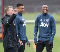 Jesse Lingard & Ashley Young