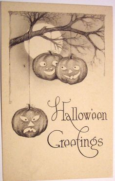 Vintage Halloween Postcard | Flickr - Photo Sharing!