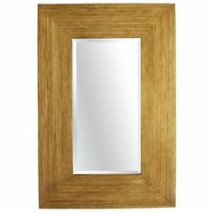 Bamboo Mirror @ Pier 1 ~ It is on clearance!