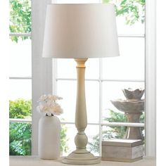 "Zingz & Thingz Revamp 18.38"" H Table Lamp with Empire Shade 