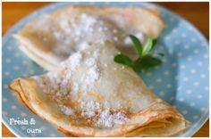 freshours: Kokosové palacinky Fresh, Ethnic Recipes, Food, Meal, Eten, Meals
