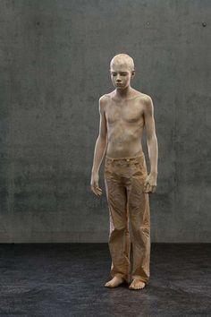 Hyperreal Human Replicas #3. Real sculpture