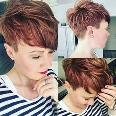 Best Womens Hairstyles For Fine Hair – HerHairdos African Hairstyles, Pixie Hairstyles, Cool Hairstyles, Korean Hairstyles, Bandana Hairstyles, Bridal Hairstyles, Pixie Undercut, Fine Hair, Wavy Hair