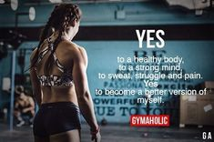 Gymaholic motivation to help you achieve your health and fitness goals. Try our free Gymaholic Fitness Workouts App. Sport Motivation, Fitness Motivation Quotes, Health Motivation, Weight Loss Motivation, Fitness Tips, Weight Loss Tips, Health Fitness, Lose Weight, Lifting Motivation