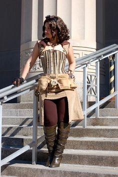 cute steampunk costume