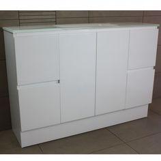 Essence Floor Mount Vanity Cabinet without Top 1200mm | Highgrove Bathrooms