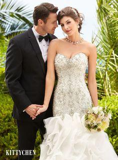 Wedding Dresses | Bridal Gowns | KittyChen - Ariel #kittychen