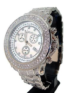 Talk about SHINY! Joe Rodeo takes the cake with this elegant, blingy and stylish watch. Love it!