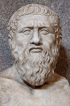 Platón fue un filósofo griego seguidor de Sócrates y maestro de Aristóteles. En 387 fundó la Academia, institución que continuaría su marcha a lo largo de más de novecientos años y a la que Aristóteles acudiría desde Estagira a estudiar filosofía alrededor del 367, compartiendo, de este modo, unos veinte años de amistad y trabajo con su maestro.