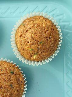 Zucchini Bran Muffins. Good! Added 1 tsp pumpkin pie spice. Baked muffins tend to stick to the paper cups - next time just place directly into muffin tins to bake.