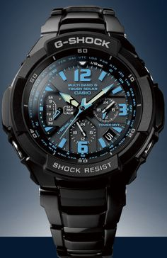 Casio G-shock got to have! Casio G-shock got to have! Casio G Shock Watches, Fine Watches, Sport Watches, Cool Watches, Watches For Men, Black Watches, Casio G-shock, Casio Watch, Casio Vintage