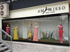 Window Display @Amarisso New York New York in Kifissia