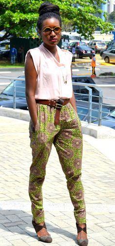 African Fabric, Ankara, African Shop , Funky Fashions #Ankara, #AfricanFabric, #ankarapants