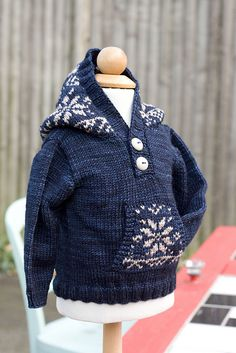Ravelry: Project Gallery for Winter Hoodie pattern by Annie Rowden