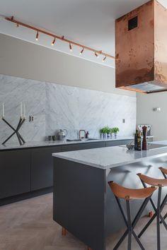 Cocina con iluminación cobre - 10 Ideas para conseguir que el cobre sea el protagonista de tu casa