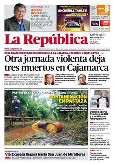 Edición impresa del miércoles 4 de julio, del 2012