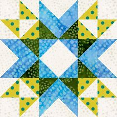LIFE HISTORY QUILT: Star Valley Wyoming Valley Star Quilt Block