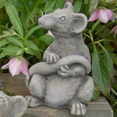 Bon Ratsmore The Rat Garden Statue Concrete Statues, Concrete Sculpture,  Sculpture Garden, Outdoor Garden