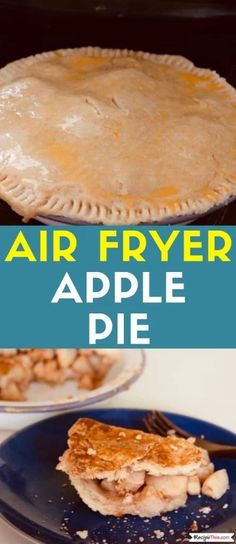 Air Fryer Oven Apple Pie. As part of our air fryer pie series, air fryer apple pie is perfect for air fryer cooking. Load it with your favourite seasonal apples, add our homemade air fryer pie crust and you will achieve an amazing golden crispy crusted apple pie in the air fryer.#applepie #airfryerapplepie #airfryerpie #airfryeroven #airfryerovenrecipes