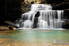Mize Mill Falls, Bankhead National Forest ~ Alabama