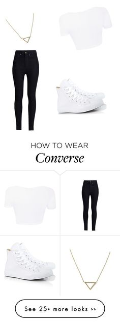 """Untitled #301"" by nonono01 on Polyvore featuring Banana Republic, Rodarte and Converse"