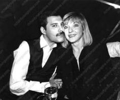 """""""Love of My Life"""" Freddie Mercury wrote this wonderful song for the true love of his life: Mary Austin"""