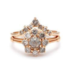 Wedding Rings Inspiration  :   Illustration   Description   Celestine Yellow Gold Engagement Ring Unique Designer jewelry NYC – Anna Sheffield Jewelry    -Read More –   - #WeddingRings https://adlmag.net/2017/10/04/wedding-rings-inspiration-celestine-yellow-gold-engagement-ring-unique-designer-jewelry-nyc-anna-sheff/