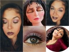 Tangled's Villain: Mother Gothel Inspired Makeup