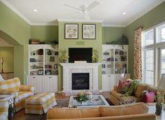 Decor, Living Room, Home Decor, Fireplace, Local Builders