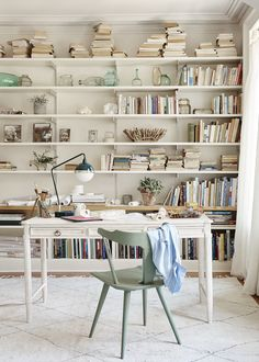 Anthropologie Catalog Photo: Katya De Grunwald Set Design/ Prop Stylist: Amy Chin  home office, home library