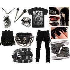Suicide silence outfit