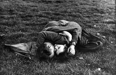 GI and girlfriend, Hyde Park, London, May 1944