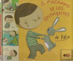 """""""El imaginario de los sentimientos de Felix"""" by Pili Fernández, via Slideshare.  Cuento para trabajar las EMOCIONES."""