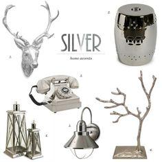 Silver Home Accents   WhereWeAreBlog.com