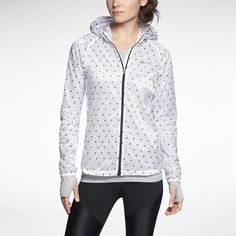Nike Vapor Cyclone Packable Women's Running Jacket // runners world recommended http://www.runnersworld.com/cold-weather-running/nine-running-jackets-rain?page=single