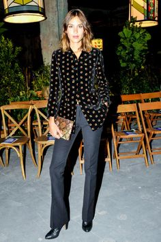 The 10 best dressed celebrities spotted at New York Fashion Week: Alexa Chung