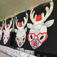 Teaching Resource: A fun Christmas craft activity using a reindeer with funky glasses and a Christmas hat. Teaching Resource: A fun Christmas craft activity using a reindeer with funky glasses and a Christmas hat. Christmas Art Projects, Christmas Arts And Crafts, Winter Crafts For Kids, Christmas Activities, Craft Activities, Kids Christmas, Handmade Christmas, Holiday Crafts, Reindeer Christmas