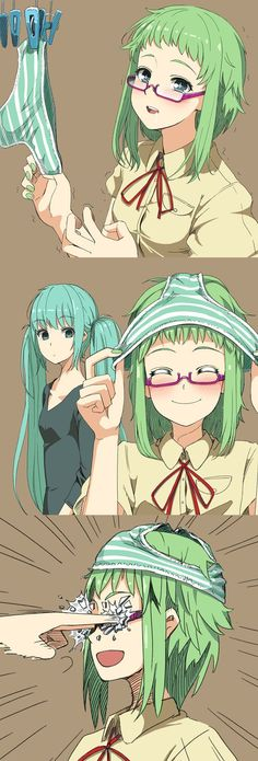 Image 20234: glasses gumi hatsune_miku panty vocaloid
