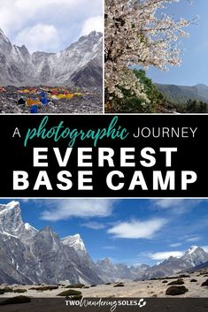 """The Everest Base Camp trek was one of the most """"other-worldly"""" experiences we've had anywhere in the world! And no matter how hard we try to put everything into words, it doesn't quite do this place justice. So we hope these photos do the trick and make you feel as if you're on the journey with us! Travel Advice, Travel Guides, Travel Tips, Travel Destinations, Adventure Photography, Photography Tips, Travel Photography, Asia Travel, Solo Travel"""